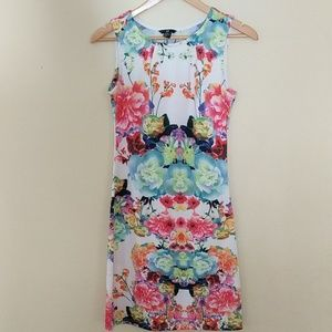 H&M floral tank dress, size 6